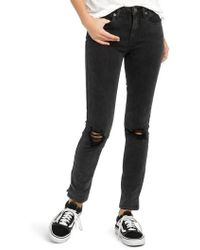 RVCA   'dayley' Skinny Jeans   Lyst