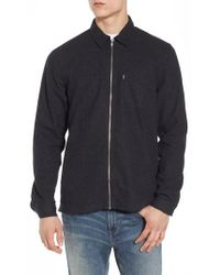 Wesc - Nicks Flannel Zip Overshirt - Lyst