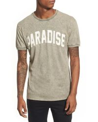 Antony Morato - Paradise Graphic T-shirt - Lyst