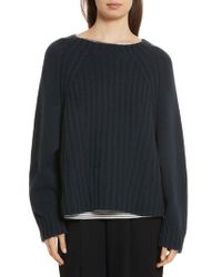 Vince - Ribbed Wool & Cashmere Sweater - Lyst
