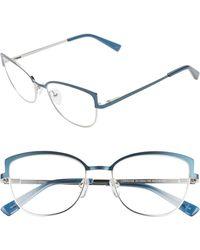 Corinne Mccormack Lorraine 54mm Reading Glasses - Blue
