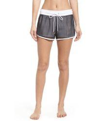 Onzie - Mesh 2-in-1 Mesh Shorts - Lyst
