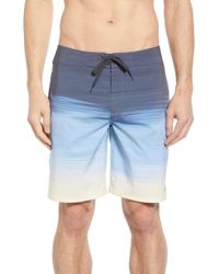 Travis Mathew Nobody Panic Board Shorts - Blue