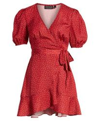 The Fifth Label - Rooftop Wrap Dress - Lyst