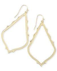 Kendra Scott | 'sophee' Textured Drop Earrings | Lyst