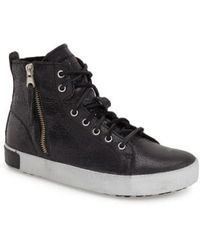 Blackstone - KI57 Leather High-Top Sneakers - Lyst