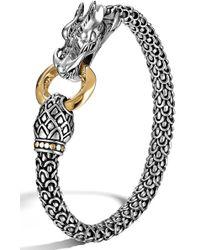 John Hardy 'legends' Dragon Bracelet - Metallic