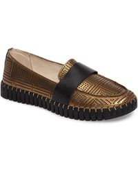 Bernie Mev Rubber Dream in Light Gold (Metallic) Lyst