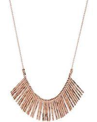 Gorjana - 'kylie' Fan Necklace - Lyst