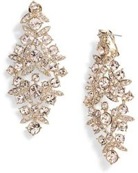 Givenchy - Drama Crystal Chandelier Earrings - Lyst