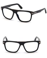 lyst rick owens shiny horn sunglasses in black for men  tom ford cecilio 57mm sunglasses shiny black lyst