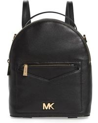 MICHAEL Michael Kors - Small Jessa Leather Convertible Backpack - Lyst