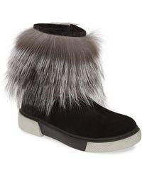 Sheridan Mia Tomtom Genuine Fox Fur Bootie - Multicolour