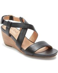 Me Too | Payton Strappy Wedge | Lyst