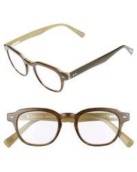 Eyebobs | Bench Mark 46mm Reading Glasses - Khaki Green | Lyst