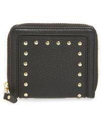 Cole Haan - Cassidy Small Rfid Leather Zip Wallet - Lyst