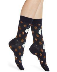 Happy Socks Cookies Socks - Blue