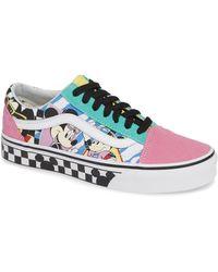 Vans - X Disney Mickey Mouse Ua Old Skool Low-top Sneaker - Lyst
