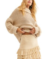 Free People My Only Sunshine Sweater - Natural
