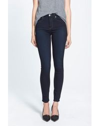 PAIGE - Transcend - Hoxton High Waist Ultra Skinny Jeans - Lyst
