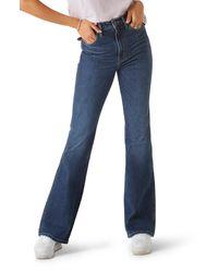 Wrangler Westward Heritage Bootcut Jeans - Blue