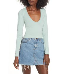 BDG - Urban Outfitters V-neck Tee - Lyst