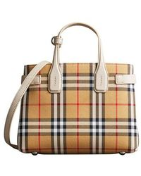 Burberry - Small Banner Tote - Lyst