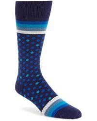 Paul Smith - Dot & Stripe Socks - Lyst