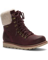 Royal Canadian - Lethbridge Waterproof Snow Boot With Genuine Shearling Cuff - Lyst