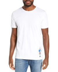 Bonobos - Bagpipe Slim Fit Embroidered T-shirt - Lyst