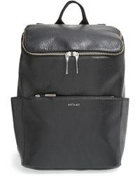 Matt & Nat - 'brave' Faux Leather Backpack - Lyst