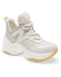 MICHAEL Michael Kors Olympia Sneaker - Natural