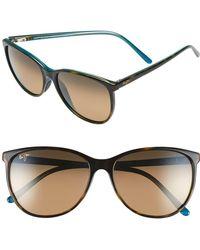 Maui Jim Ocean 57mm Polarizedplus2 Sunglasses - Brown