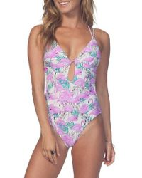 Rip Curl - Mai Tai One-piece Swimsuit - Lyst
