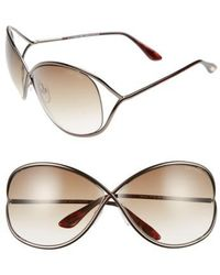 Tom Ford | Miranda 68mm Open Temple OverBronze | Lyst