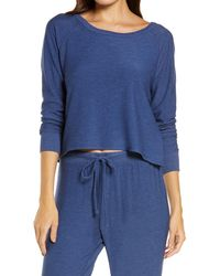 Chaser Cozy Pullover - Blue