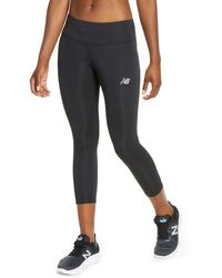 New Balance Accelerate Run Crop Tights - Black