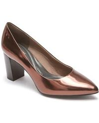 Rockport - Total Motion Violina Luxe Pointy Toe Pump - Lyst