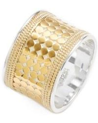 Anna Beck - 'gili' Cigar Band Ring - Lyst