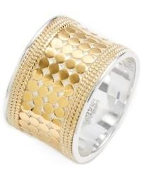 Anna Beck | 'gili' Cigar Band Ring | Lyst