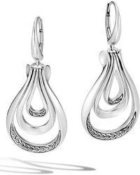 John Hardy - Asli Classic Chain Drop Earrings - Lyst