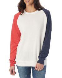 Alternative Apparel - Usa Champ Sweatshirt - Lyst
