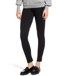 Vince Camuto Two By Seamed Back Leggings - Black