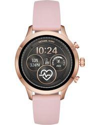 57fa2cb0be83 Michael Kors - Michael Access Runway Smart Watch - Lyst