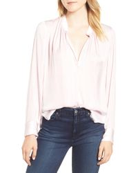 Zadig & Voltaire - Zadig & Volaire Tink Blouse - Lyst