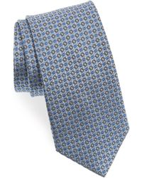 Nordstrom - Check Silk Tie - Lyst