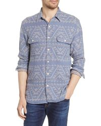 Faherty Brand - Canyon Organic Cotton Button-up Shirt - Lyst
