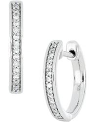 CARRIERE JEWELRY - Carriere Diamond Huggie Earrings (nordstrom Exclusive) - Lyst
