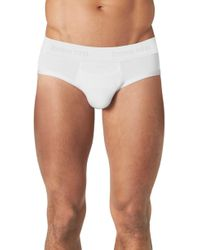 Tommy John Second Skin Briefs - White