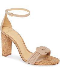 Alexandre Birman - Chiara Knot Ankle Strap Sandal - Lyst